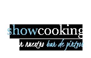 Show cooking en el bar de pinchos